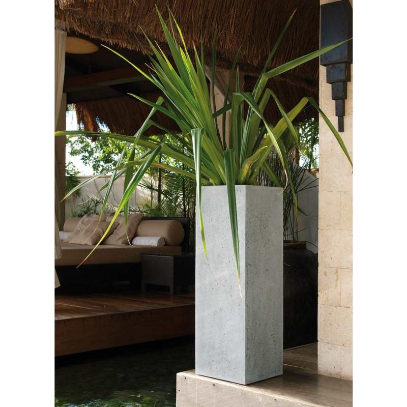 Venkovní květináče - Style Grey 40x40x120cm