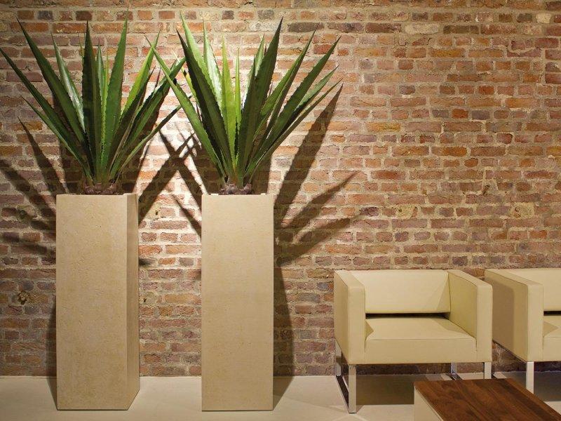 Venkovní květináče - Style Creme 33x33x100cm