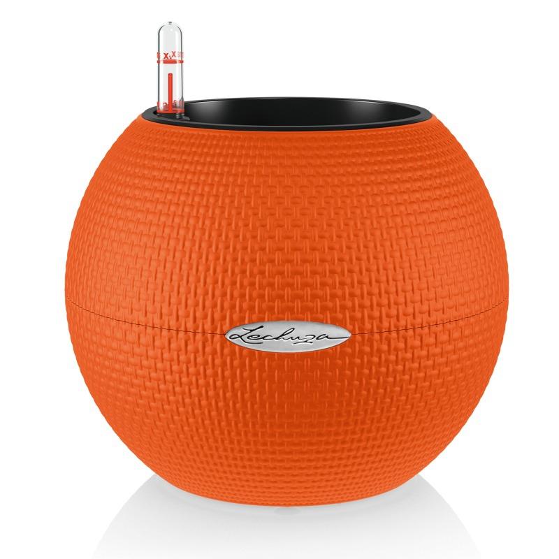 Lechuza květináče - Lechuza Puro 20 Trend orange komplet