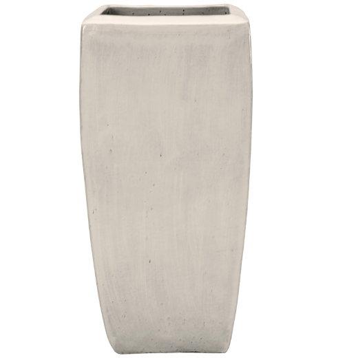 Keramické květináče - Deluxe White Kubis 42x42x90cm