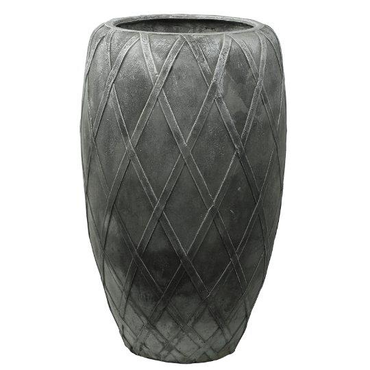 Venkovní květináče - Wire Coppa Silver 55x90cm