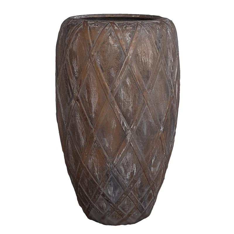 Venkovní květináče - Wire Coppa Bronze 55x90cm