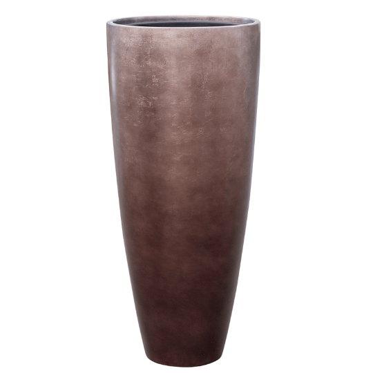 Luxusní květináče - Metallic partner coffee 40x90cm