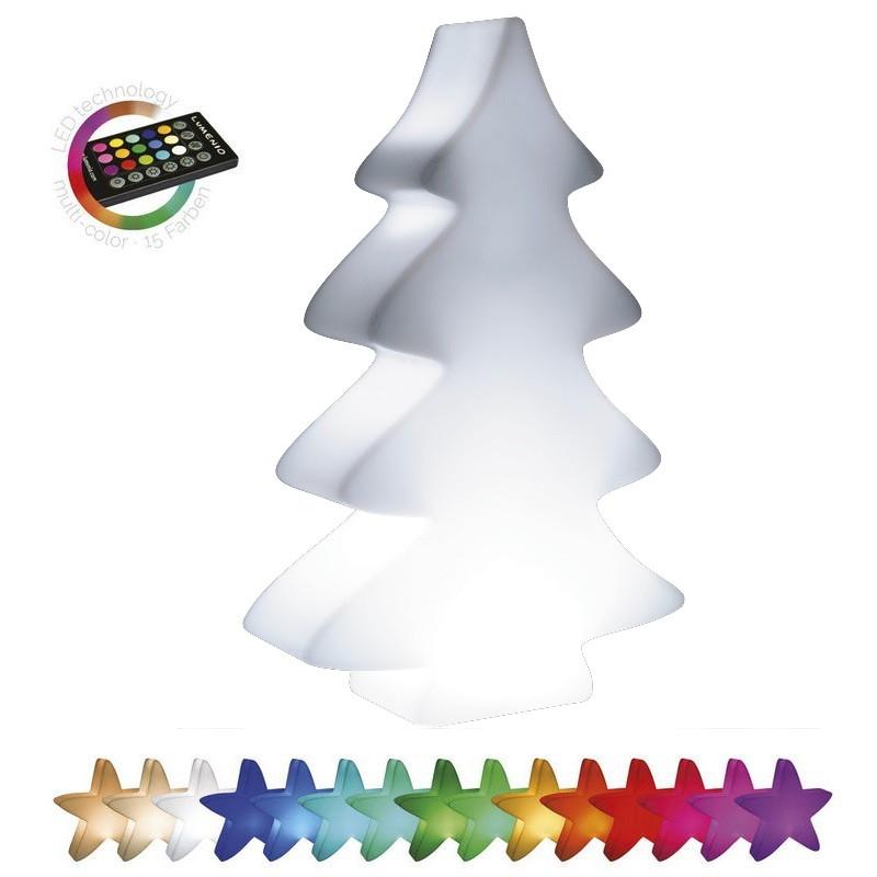 Svítící květináče - Svítící stromek LED mini 54x14x82cm