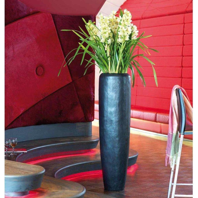 Luxusní květináče - Loft Classic Black Iron 34x150cm