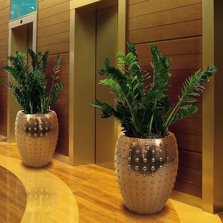 Keramické květináče - Laos Gold 44x55cm