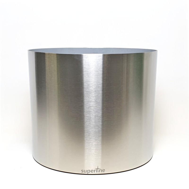 Kovové květináče - Superline Standard na filcu 30x25cm