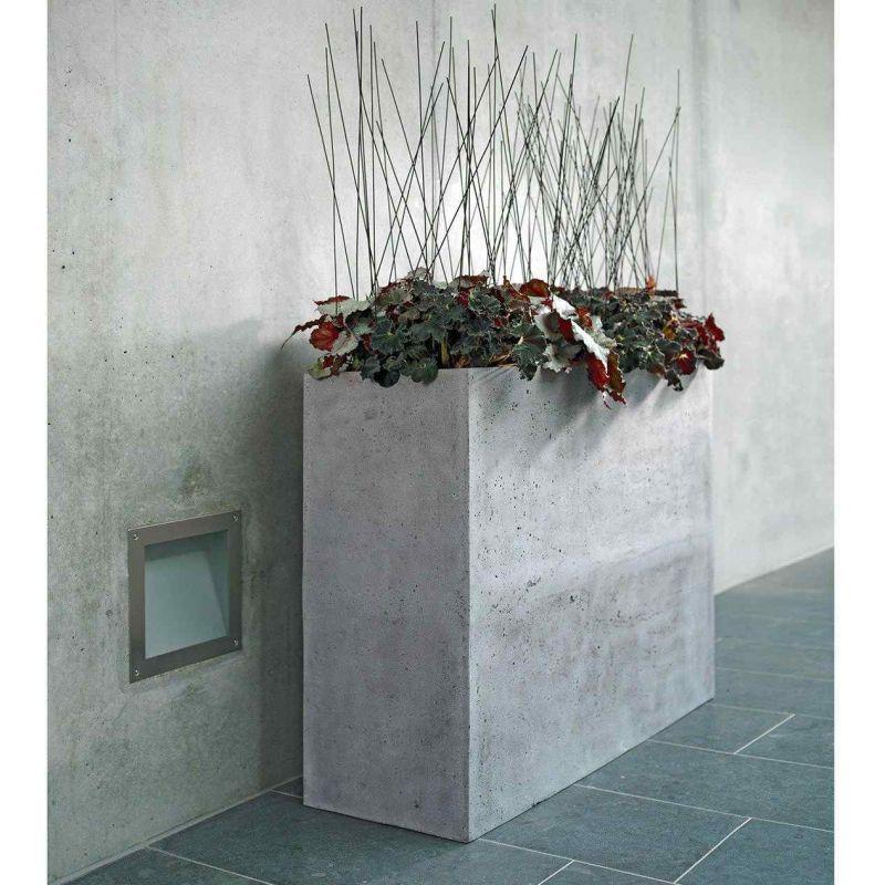 Venkovní květináče - Divide truhlík vysoký Grey 100x35x80cm
