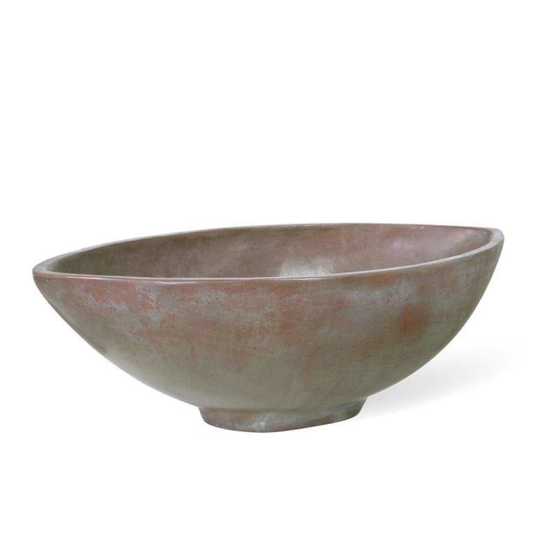 Luxusní květináče - Loft Bowl Bronze 69x36x21cm