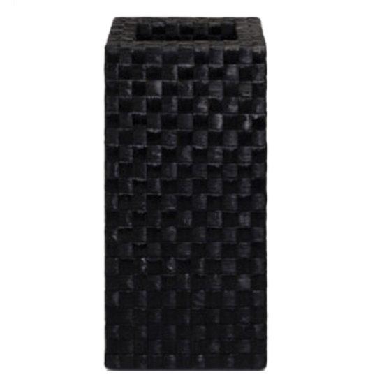 Luxusní květináče - Banana Kubis Black 45x45x90cm