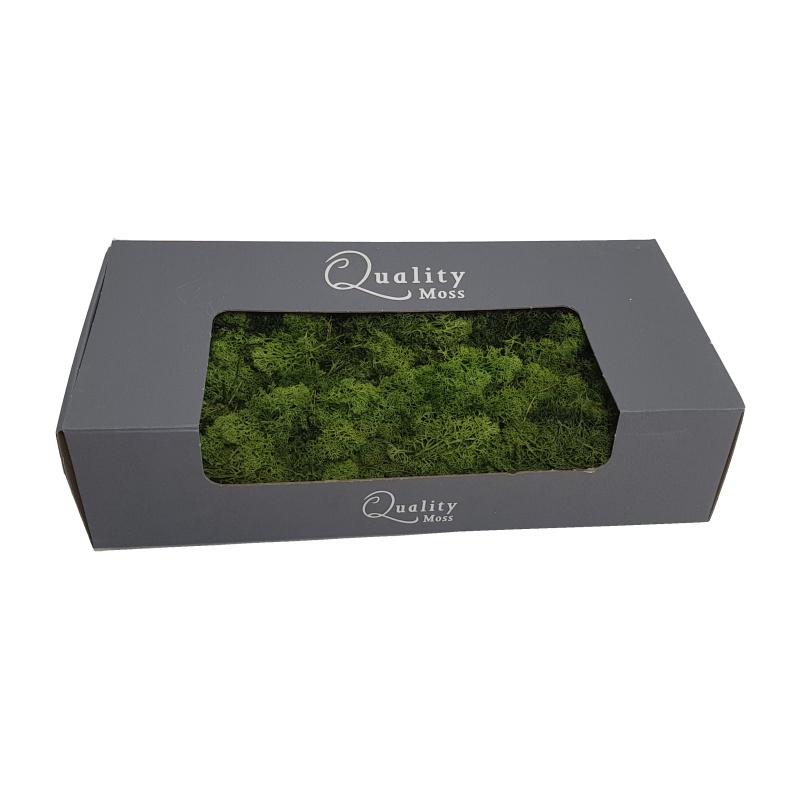 Zelené stěny - Stabilizovaný Norský mech tmavě zelený 500g