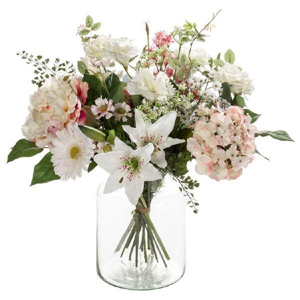 Umělé květiny - Umělá kytice soft 15 stonků