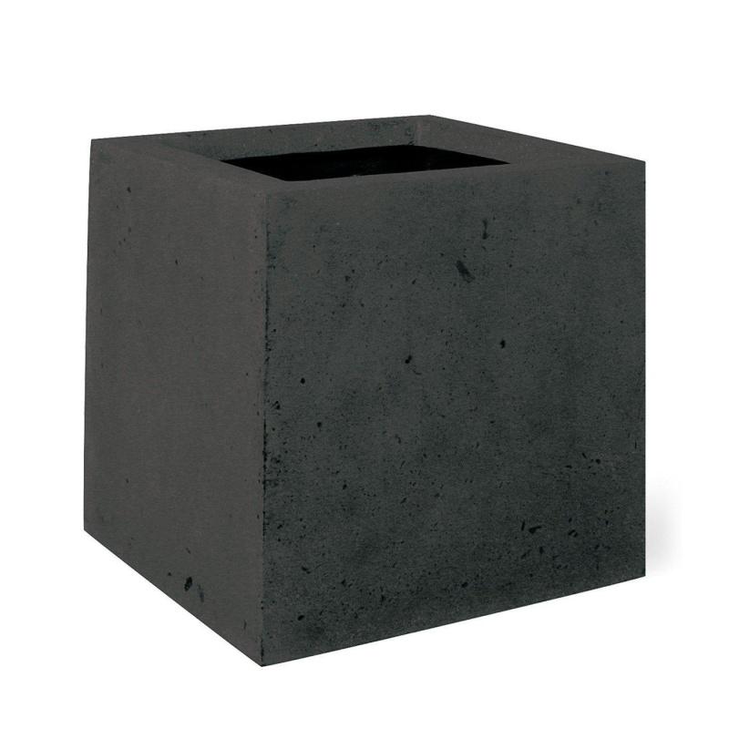 Venkovní květináče - Square Antracit 30x30x30cm