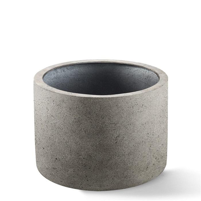 Venkovní květináče - D-lite Cylinder Natural Concrete 48x32cm