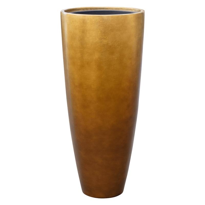 Luxusní květináče - Metallic partner honey 40x90cm