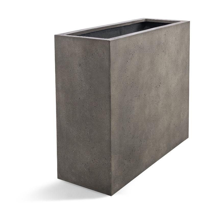 Venkovní květináče - D-lite vysoký truhlík L Natural Concrete 80x30x68cm