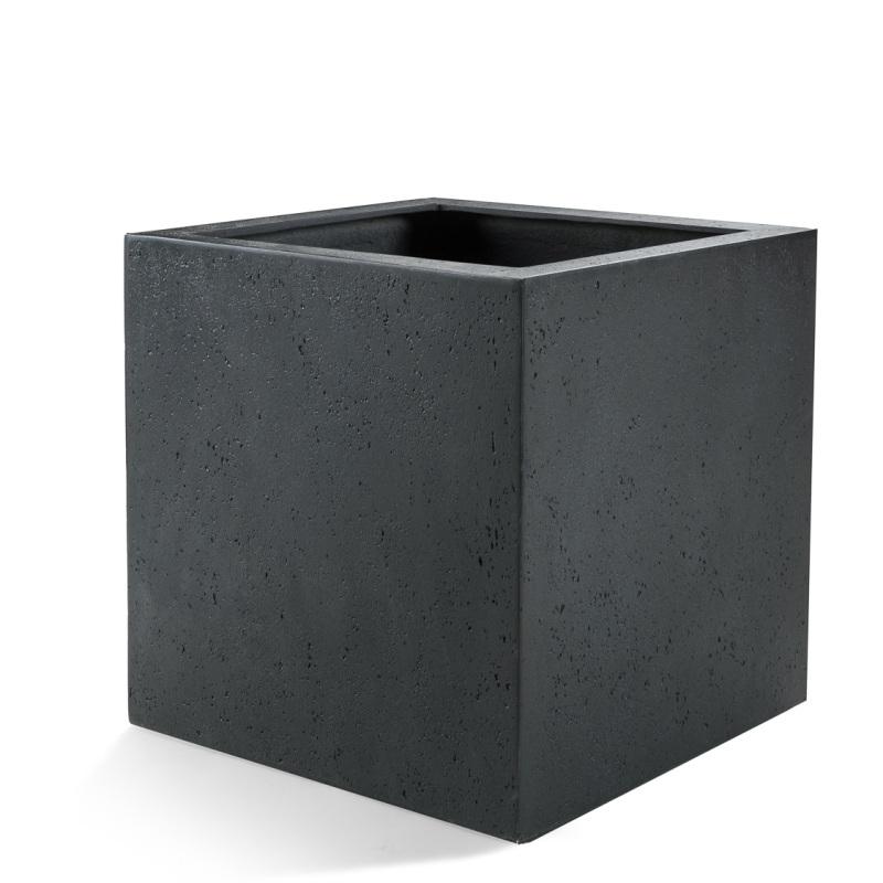 Venkovní květináče - D-lite Cube XXL Antracit 80x80x80cm