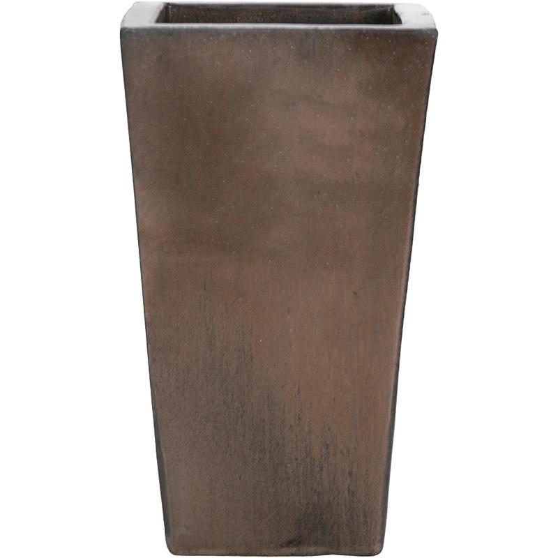 Keramické květináče - Sepia Kubis 33x33x60cm