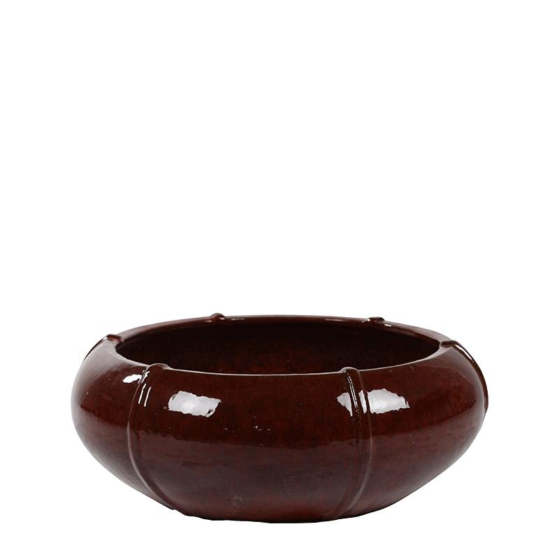 Keramické květináče - Moda Bowl Red 76x29cm