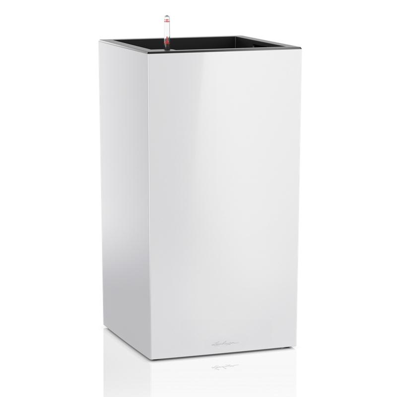 Lechuza květináče - Lechuza Canto Premium Tower 40 White komplet