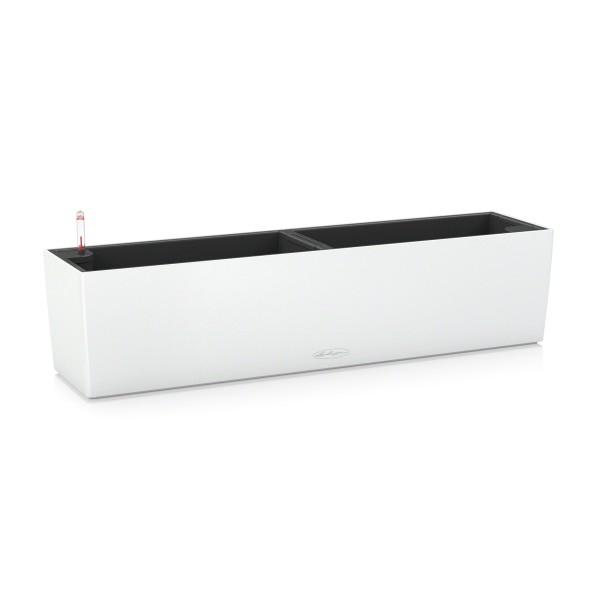 Lechuza květináče - Lechuza Balconera Trend 80 White komplet