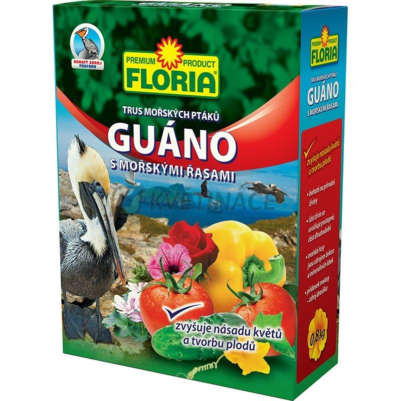 Doplňky - Floria GUÁNO s mořskými řasami 800g