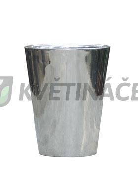Kovové květináče - Aluminium Polished Partner 45x50cm