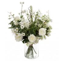 Umělá kytice white 23 stonků
