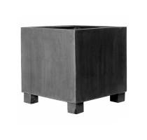 Fiberstone Jumbo Square Grey M 70x70x70cm