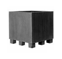 Fiberstone Jumbo Square Grey XXL 130x130x110cm