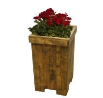 Květináč Euro Wood vysoký 33x33x67cm