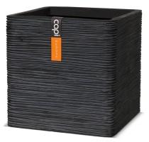 Capi Nature krychle černá 40x40x40cm