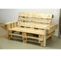 Lavice z palet Euro Wood 148x80x85cm