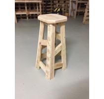 Barová stolička z palet Euro Wood 40x40x80cm