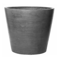 Fiberstone Bucket Grey mat 58x50cm