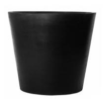 Fiberstone Bucket Black mat 58x50cm