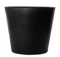 Fiberstone Bucket Black mat 70x60cm