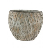 Ovál Wire Bronze 26x15x23cm