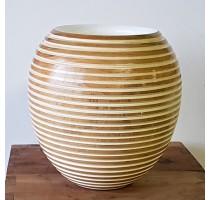 Váza Woody Honey Shine 32x33cm - BAZAR