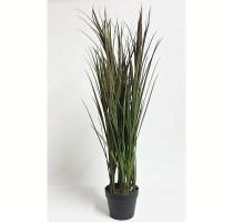 Umělá tráva bordó-zelená 115cm