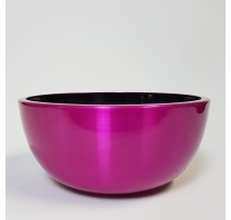 Aluminium Bowl Pink 43x18cm