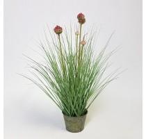 Umělá česneková tráva 53cm