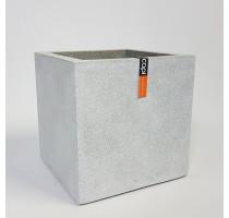 Capi Lux krychle šedá 50x50x50cm