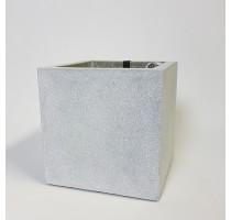 Capi Lux krychle šedá 40x40x40cm