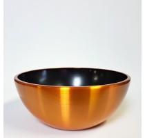 Aluminium Bowl Gold 35x15cm