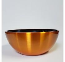 Aluminium Bowl Gold 43x18cm