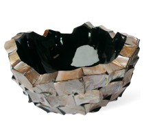 Shell Brown Bowl 40x24cm