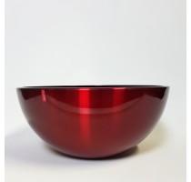 Aluminium Bowl Red 35x15cm