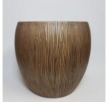 Twist klasik bronzový 73x67cm