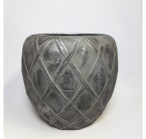 Wire Coppa Silver 73x66cm